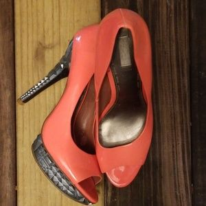 Hot Pink Rachel Roy 9.5 Womens Stilettos